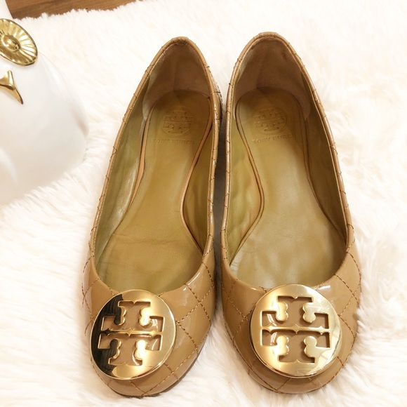 ad6280971bab37 Tory Burch Quilted Patent Leather Flats. M 5bff4ef4df0307da5bf0ea3a